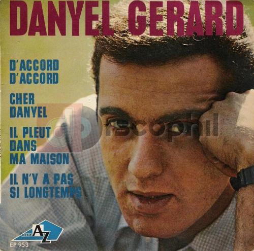 Gerard danyel discophil books vinyls la boutique du disque vinyle et du livre d 39 occasion - Il pleut dans ma maison ...